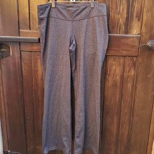 Lucy Powermax Straight Leg Gray Athletic Pants